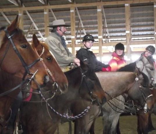 4H Horsemanship Clinic Stettler, AB