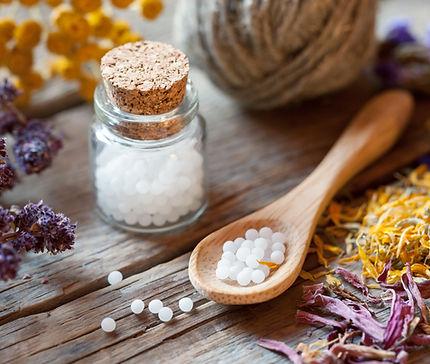 Garrafas de Homeopatia Globules