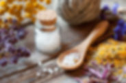 Botellas de homeopatía Glóbulos