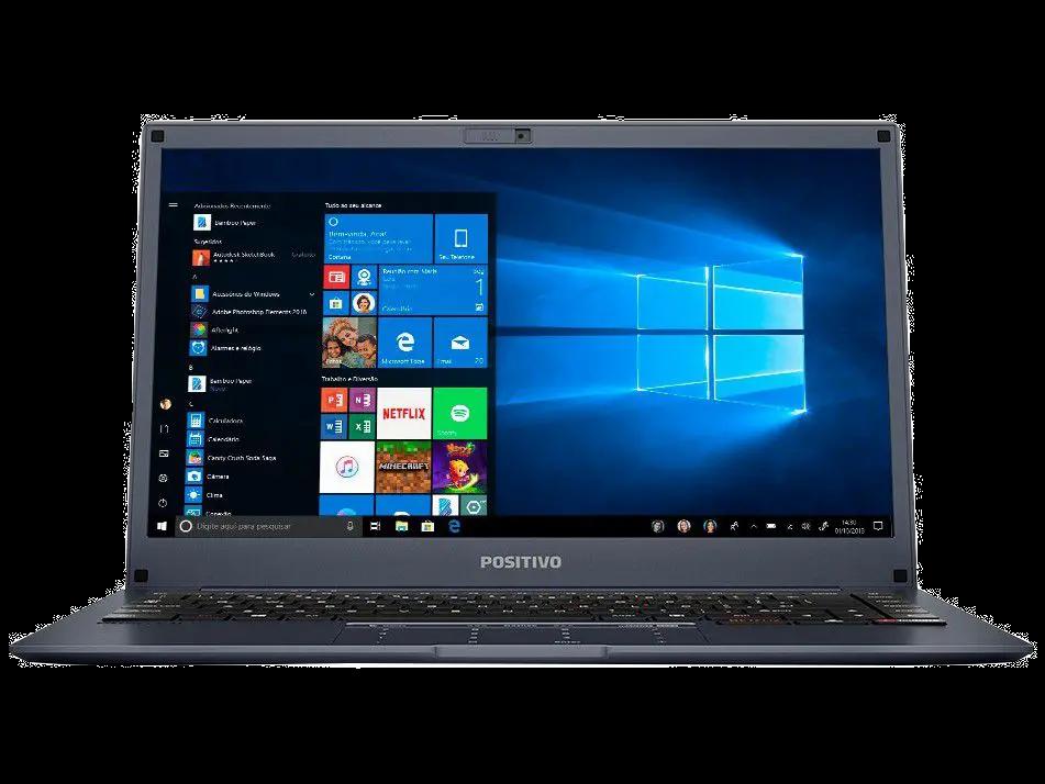 Notebook Positivo Motion Plus Q464B Intel