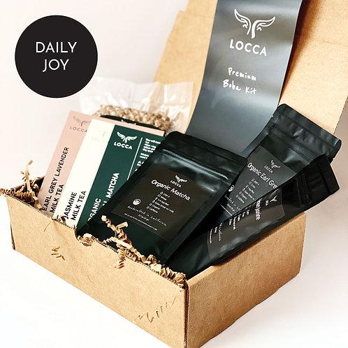 Premium Boba Kit - DAILY JOY - Locca DIY Bubble Tea Box