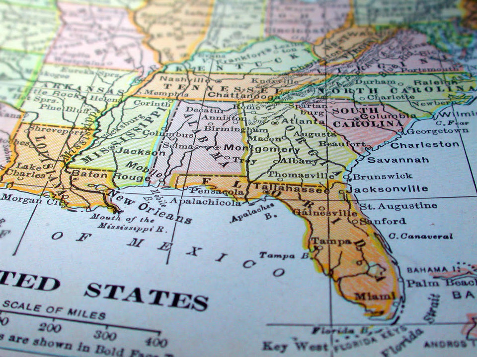 employment opportunities in the southeast US