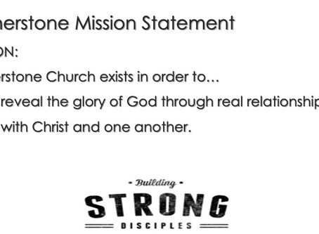 The Mission we are on TOGETHER!