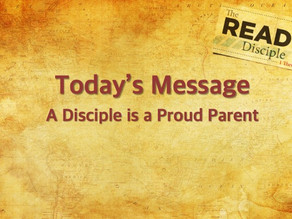 Disciple-Making is parenting