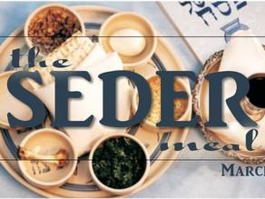 The Seder is God's Savior Story