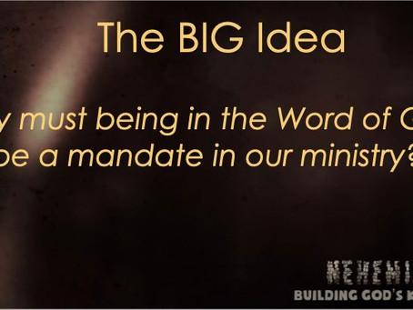 What is with the Word of God? Revival!!!