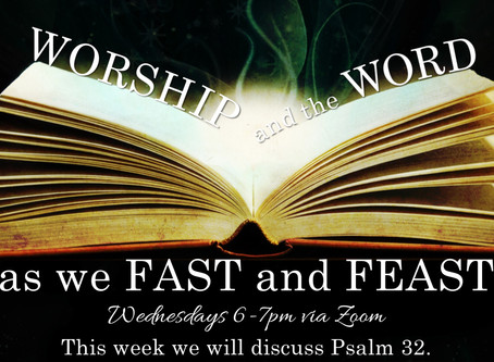 Week 3 of Worship and the Word
