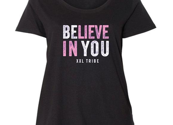 Believe In You - Curvy Crew on Black
