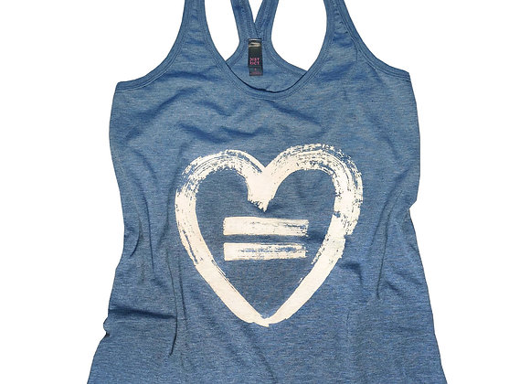 Equality Heart-Royal Frost-Tank
