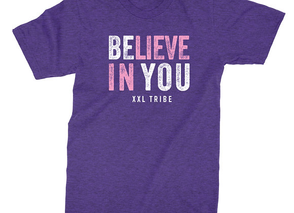 Believe In You-Crew-Heather Purple