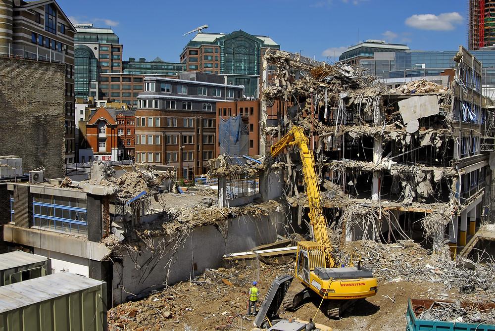 Construction / Demolition Dust London