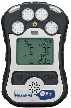 MicroRAE (ATEX) LEL / H₂S / CO / O₂ - Li-ion / BLE + 868MHz + GPS