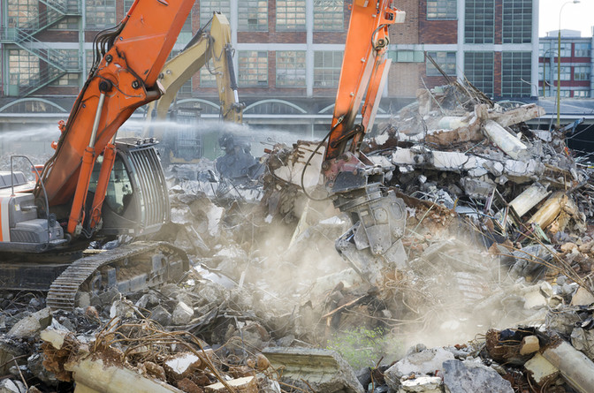 Developer fined after failing to safely carry out demolition work