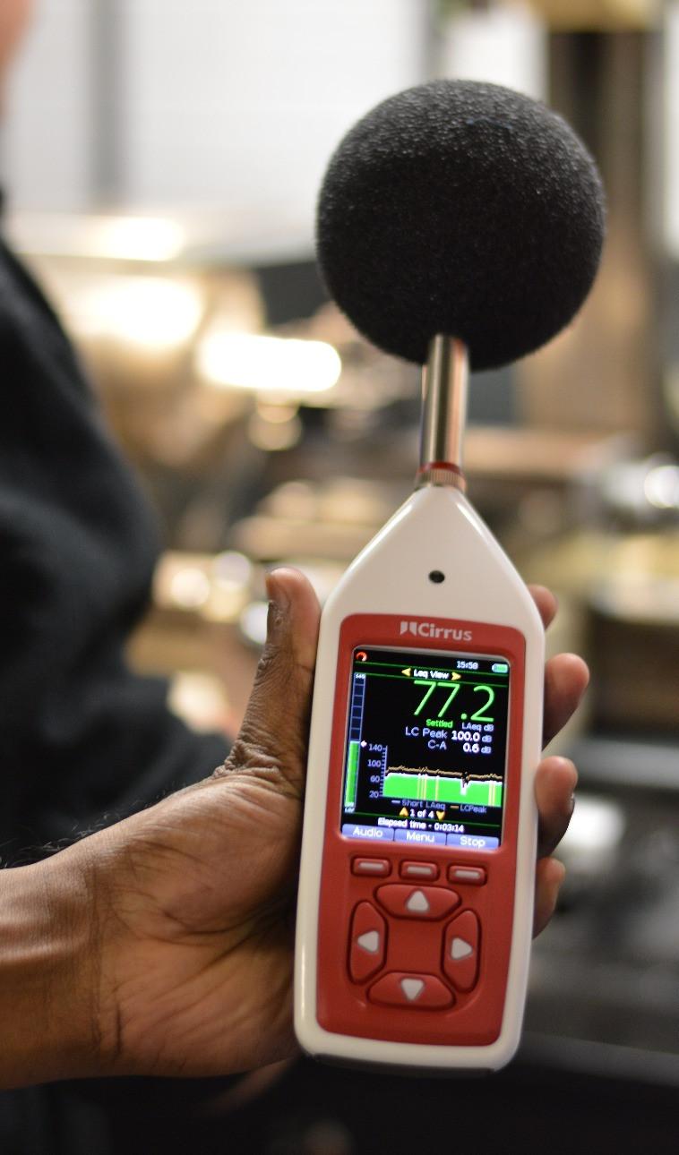Cirrus Optimus Workplace Noise