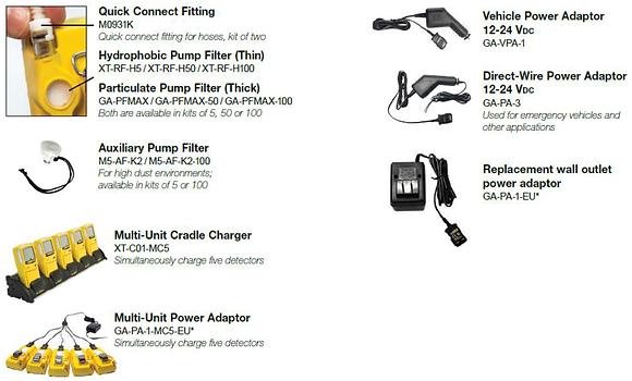 Max XT II Parts and Accessories List