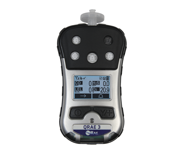 QRAE 3 Pumped Multigas Monitor