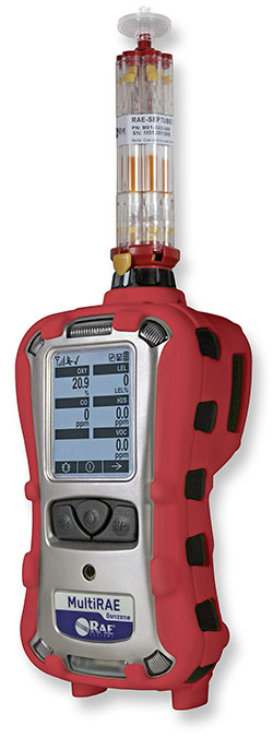 MultiRae Benzene Multigas Monitor