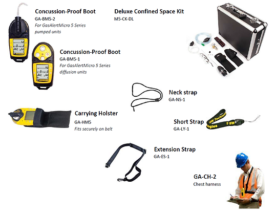 GasAlertMicro 5 (V) Parts and Accessories