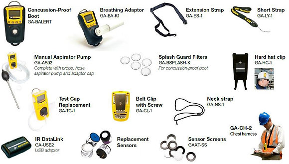 BW Gas Alert Extreme Parts and Accessories