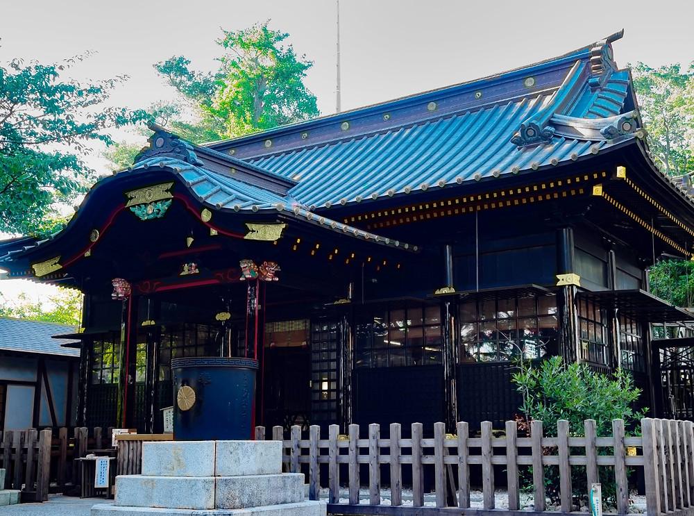 玉前神社社殿改修終了