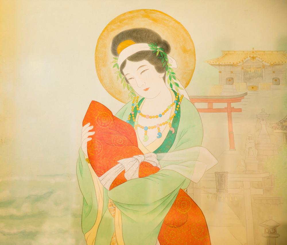 玉依姫命」(タマヨリヒメノミコト)肖像画