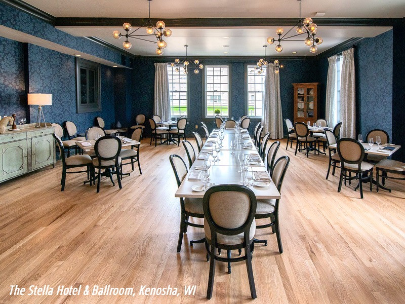 The Stella Hotel & Ballroom, Kenosha, WI