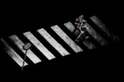 girls crossing too