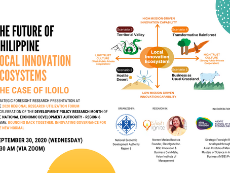 Future of Philippine Local Innovation Ecosystems - the Case of Iloilo