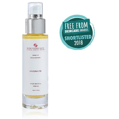 Face Revival Cream - Hydrate - Shea & Macadamia - Dry Skin