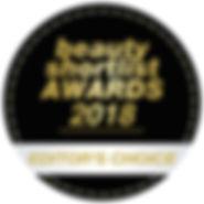 Beauty Shortlist Award Editor's Choice
