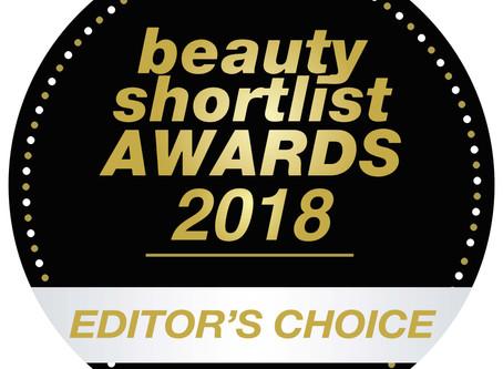 Award winning skincare