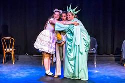 Lady Liberty Hug