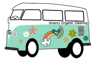 Groovy Organic Cleaning Bus