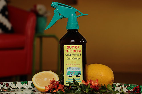 WOOD POLISHER & CONDITIONER: Out of the Dust