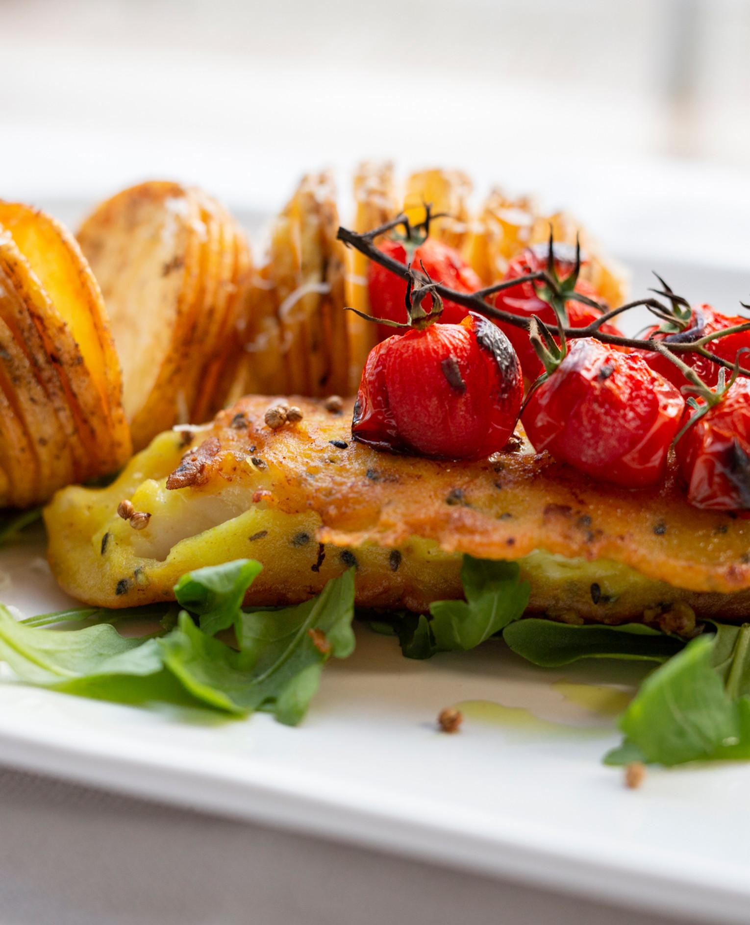 Hasselblack - ziemniak z rybką.