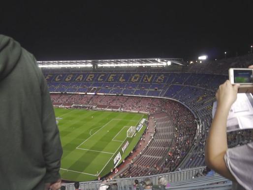 Barcelona w 32 sekundy!