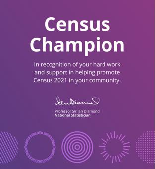 Census Champion!