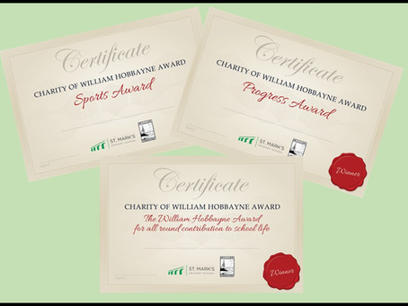 The Charity of William Hobbayne Award