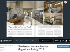 Charleston Home + Design Magazine - Spring 2015