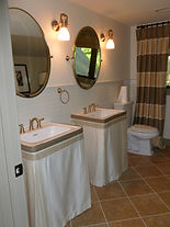 custom table and sink skirts spartanburg sc