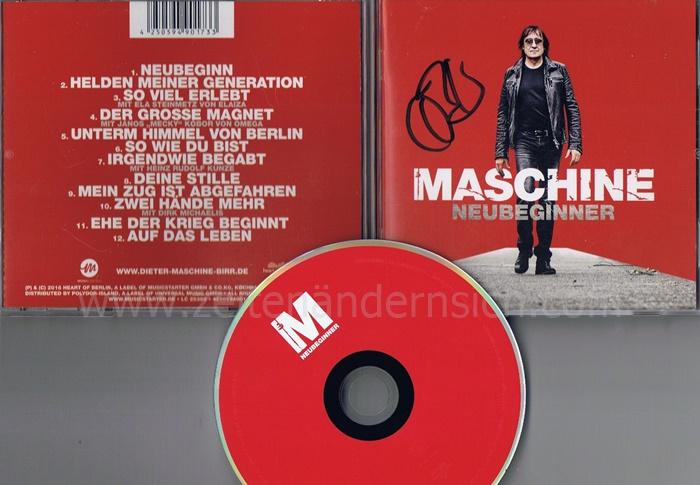 Maschine- Neubeginner-Deutschland