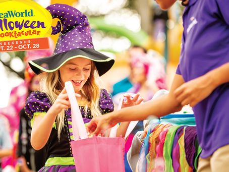 Kids Play Free at SeaWorld Orlando's Halloween Spooktacular Weekends