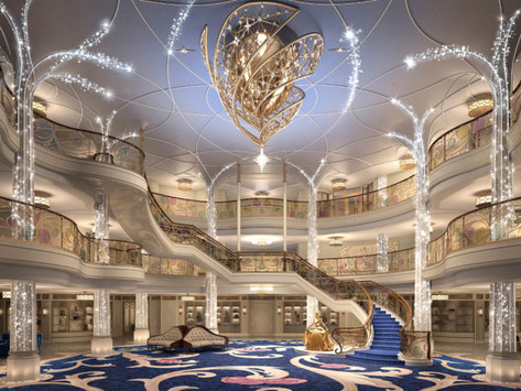 Disney Cruise Lines Reveals Enchanting Details Of Their New Ship