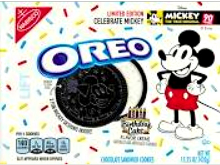Mickey Mouse Oreo Cookies?!