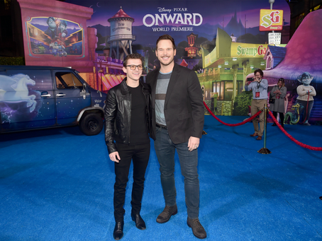 Hollywood welcomes Disney Pixar's  Onward