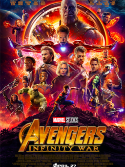 Avengers Infinity War Explodes in theaters next month.