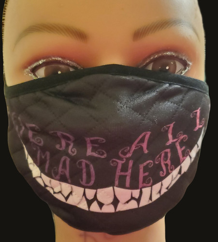 Cheshire Mask Front View