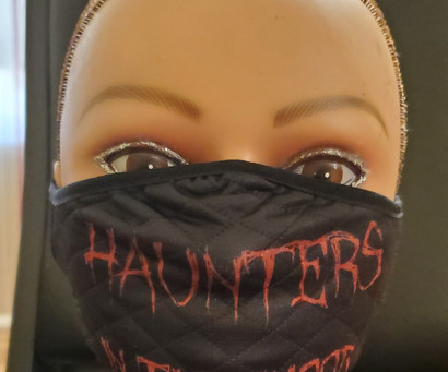 Haunters in the 'Hood Mask Front View