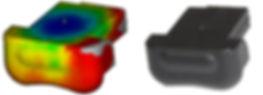 Moldflow weld line, összecsapás