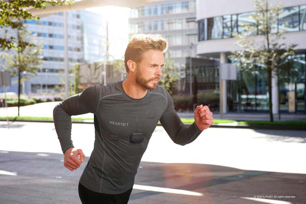 Heartbit during running